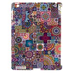 Ornamental Mosaic Background Apple iPad 3/4 Hardshell Case (Compatible with Smart Cover)