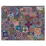 Ornamental Mosaic Background Cosmetic Bag (XXXL)