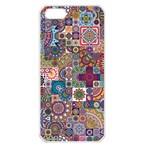 Ornamental Mosaic Background Apple iPhone 5 Seamless Case (White)
