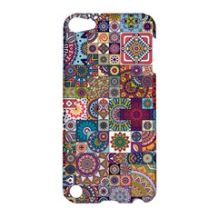 Ornamental Mosaic Background Apple Ipod Touch 5 Hardshell Case by TastefulDesigns