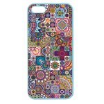 Ornamental Mosaic Background Apple Seamless iPhone 5 Case (Color)