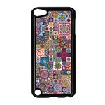 Ornamental Mosaic Background Apple iPod Touch 5 Case (Black)