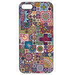 Ornamental Mosaic Background Apple iPhone 5 Hardshell Case with Stand