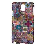 Ornamental Mosaic Background Samsung Galaxy Note 3 N9005 Hardshell Case