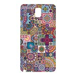 Ornamental Mosaic Background Samsung Galaxy Note 3 N9005 Hardshell Back Case