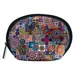 Ornamental Mosaic Background Accessory Pouches (Medium)