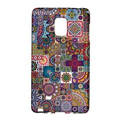 Ornamental Mosaic Background Galaxy Note Edge by TastefulDesigns