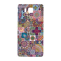 Ornamental Mosaic Background Samsung Galaxy Alpha Hardshell Back Case by TastefulDesigns