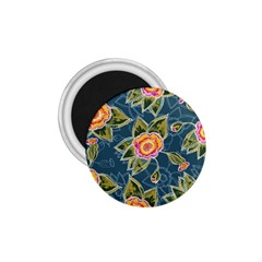 Floral Fantsy Pattern 1 75  Magnets by DanaeStudio