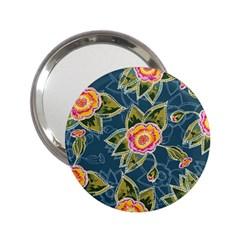 Floral Fantsy Pattern 2 25  Handbag Mirrors by DanaeStudio