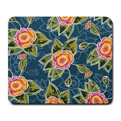 Floral Fantsy Pattern Large Mousepads by DanaeStudio