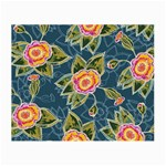 Floral Fantsy Pattern Small Glasses Cloth
