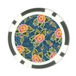 Floral Fantsy Pattern Poker Chip Card Guards (10 pack)