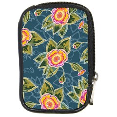 Floral Fantsy Pattern Compact Camera Cases by DanaeStudio