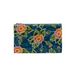 Floral Fantsy Pattern Cosmetic Bag (Small)