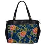 Floral Fantsy Pattern Office Handbags