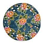 Floral Fantsy Pattern Ornament (Round Filigree)