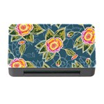 Floral Fantsy Pattern Memory Card Reader with CF