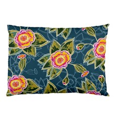 Floral Fantsy Pattern Pillow Case (two Sides) by DanaeStudio