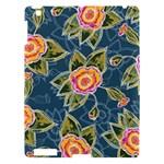 Floral Fantsy Pattern Apple iPad 3/4 Hardshell Case