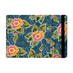 Floral Fantsy Pattern Apple Ipad Mini Flip Case by DanaeStudio