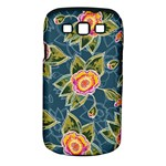 Floral Fantsy Pattern Samsung Galaxy S III Classic Hardshell Case (PC+Silicone)
