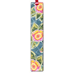 Floral Fantsy Pattern Large Book Marks by DanaeStudio