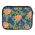 Floral Fantsy Pattern Apple iPad 2/3/4 Zipper Cases