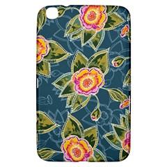 Floral Fantsy Pattern Samsung Galaxy Tab 3 (8 ) T3100 Hardshell Case  by DanaeStudio