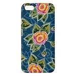 Floral Fantsy Pattern iPhone 5S/ SE Premium Hardshell Case