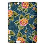 Floral Fantsy Pattern Kindle Fire HDX Hardshell Case
