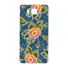 Floral Fantsy Pattern Samsung Galaxy Alpha Hardshell Back Case by DanaeStudio