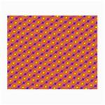 Vibrant Retro Diamond Pattern Small Glasses Cloth