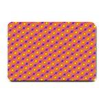 Vibrant Retro Diamond Pattern Small Doormat