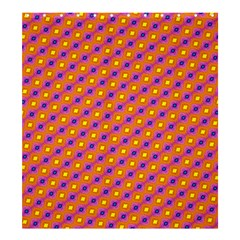 Vibrant Retro Diamond Pattern Shower Curtain 66  X 72  (large)  by DanaeStudio