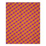 Vibrant Retro Diamond Pattern Shower Curtain 60  x 72  (Medium)