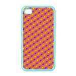Vibrant Retro Diamond Pattern Apple iPhone 4 Case (Color)