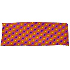 Vibrant Retro Diamond Pattern Body Pillow Case (dakimakura) by DanaeStudio