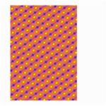 Vibrant Retro Diamond Pattern Large Garden Flag (Two Sides)