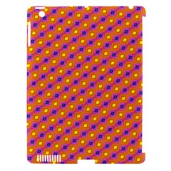 Vibrant Retro Diamond Pattern Apple Ipad 3/4 Hardshell Case (compatible With Smart Cover) by DanaeStudio