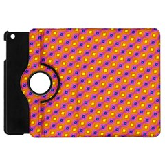 Vibrant Retro Diamond Pattern Apple Ipad Mini Flip 360 Case by DanaeStudio