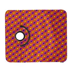 Vibrant Retro Diamond Pattern Samsung Galaxy S  Iii Flip 360 Case by DanaeStudio