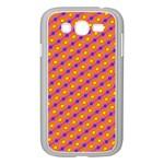 Vibrant Retro Diamond Pattern Samsung Galaxy Grand DUOS I9082 Case (White)