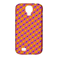 Vibrant Retro Diamond Pattern Samsung Galaxy S4 Classic Hardshell Case (pc+silicone) by DanaeStudio