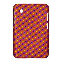 Vibrant Retro Diamond Pattern Samsung Galaxy Tab 2 (7 ) P3100 Hardshell Case  by DanaeStudio