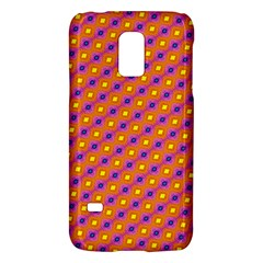 Vibrant Retro Diamond Pattern Galaxy S5 Mini by DanaeStudio