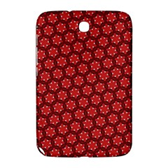 Red Passion Floral Pattern Samsung Galaxy Note 8 0 N5100 Hardshell Case  by DanaeStudio