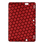 Red Passion Floral Pattern Kindle Fire HDX 8.9  Hardshell Case