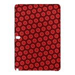 Red Passion Floral Pattern Samsung Galaxy Tab Pro 10.1 Hardshell Case