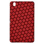 Red Passion Floral Pattern Samsung Galaxy Tab Pro 8.4 Hardshell Case